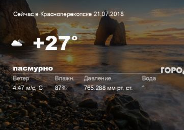 Погода в Красноперекопске