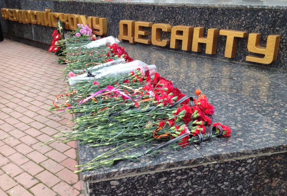 Завтра в Феодосии пройдет шествие в честь годовщины Керченско-Феодосийского десанта