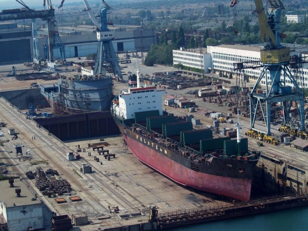 Феодосийский завод «Море» приступил к строительству нового судна на воздушной подушке