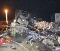 Пострадавший в ДТП на Керченской трассе водитель грузовика получил 98% ожогов, - Минздрав РК