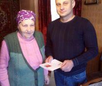 В Керчи ветеран Нина Лозина отметила свой 90-летний юбилей