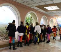 Флагоносцы Италии познакомились с историческим прошлым Феодосии