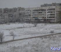 Керчь завалило снегом