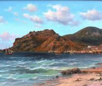 Феодосийский музей Грина представит выставку «Морской пейзаж»