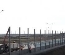 Компания «ВАД» установит шумозащитные экраны на керченской дороге к Крымскому мосту