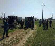 Следком возбудил уголовное дело по факту гибели людей при столкновении микроавтобуса и электрички в Крыму