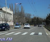 В Керчи на Кирова появилась двойная сплошная