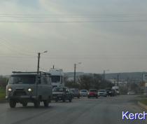 В Керчи произошло второе ДТП с участием грузовика