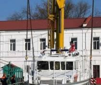 В Керчи спустили на воду катер «Дмитрий Михайлик»