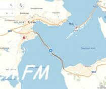 Крымский мост появился на «Яндекс.Картах»