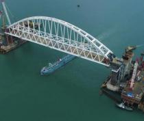На стройке Крымского моста погиб мужчина