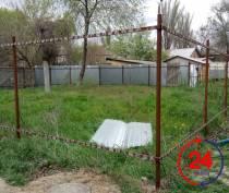 В одном феодосийском дворе исчез забор
