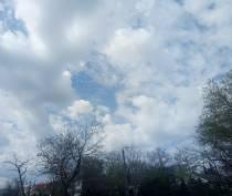 Лишь после обеда появятся облака