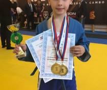 Юный судакчанин стал абсолютным чемпионом международных соревнований по боевому самбо