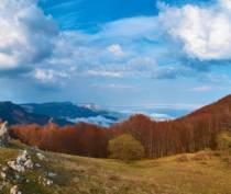 Территория Демерджи в Крыму закрыта для всех видов транспорта