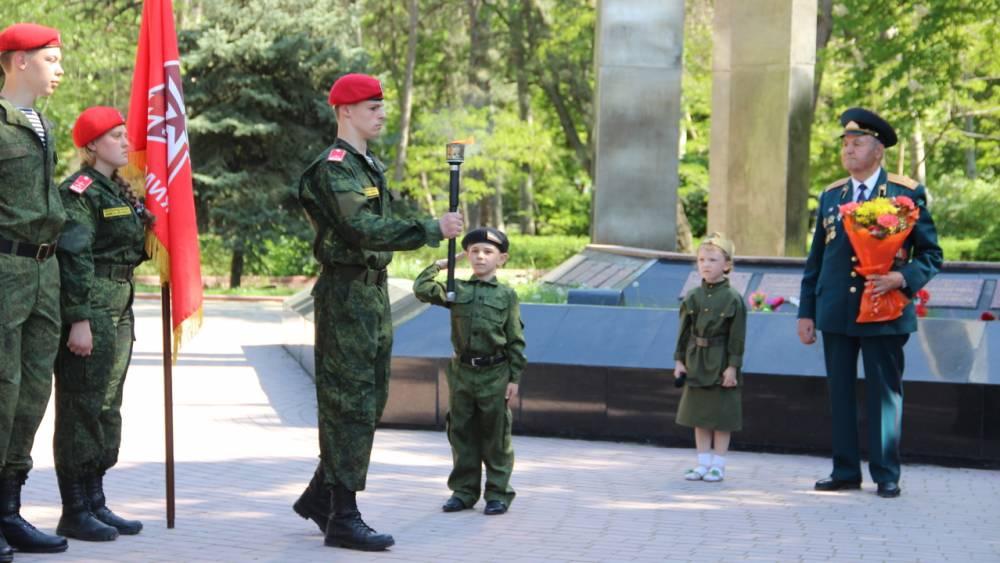 Фото новости - Вечный огонь: из Феодосии в Санкт-Петербург
