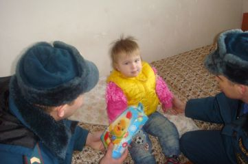 Девочку, которая пострадала на пожаре в Феодосии, выписали из больницы (ФОТО)