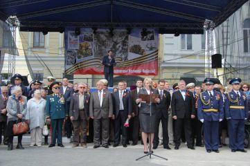 Парад на 9 мая в Феодосии