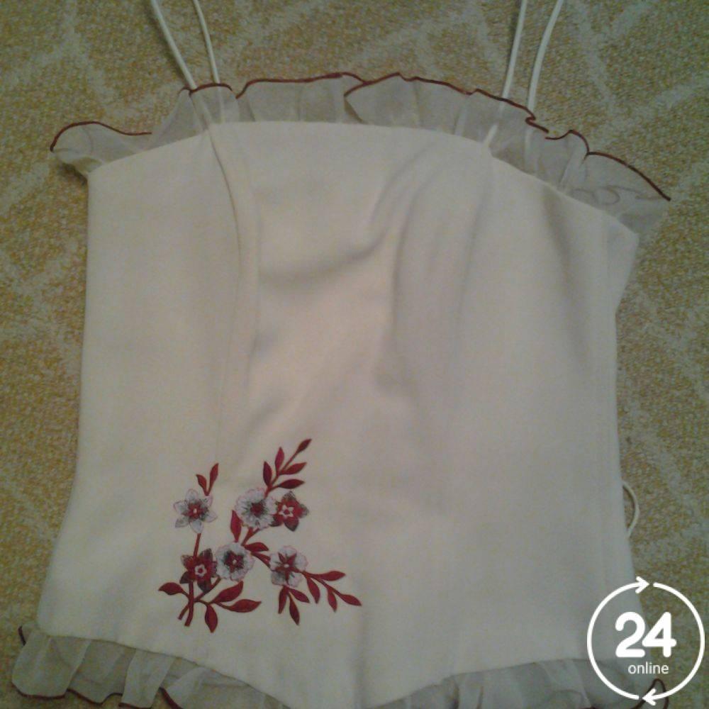 Выпускной комплект корсет + юбка.