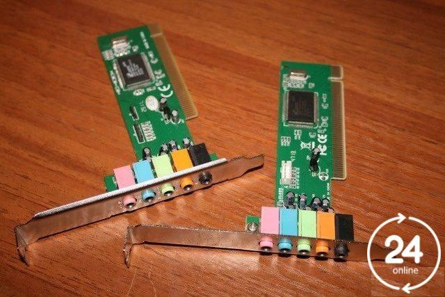 Звуковые карты PCI