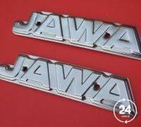 Jawa ява мотоцикл эмблема шильдик таблички хром Оригинал
