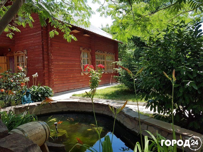 Дом, деревянный коттедж на 8-10 человек