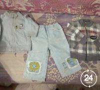 Пакет одежды летней р. 74