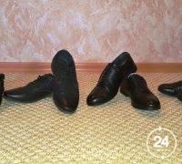 Детскую кожаную обувь