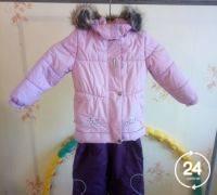 Детская верхняя одежда Детские демисезонные куртки б/у Для девочек