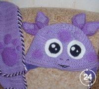 Шапочки, шарфики для детей б/у Для девочек