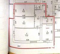 Трёхкомнатная квартира 85 м2 в Феодосии