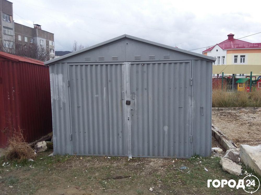 Металлический гараж в феодосии металлические гаражи ракушка
