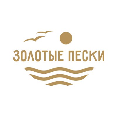 Золотые пески, водно спортивный комплекс логотип