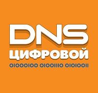 Сеть цифровых супермаркетов ДНС логотип