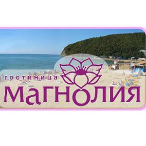 Логотип гостиница Магнолия