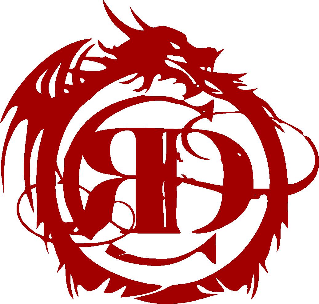 Логотип Красный дракон
