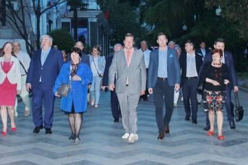 Ялту посетила делегация Законодательного собрания Ленинградской области