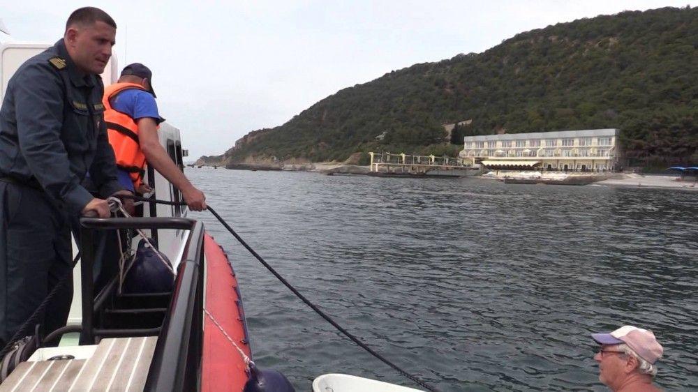 ГИМС ежедневно ведут патруль у берегов Феодосии
