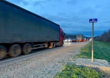 Запрет движения по «Тавриде» и Крымскому мосту вступил в силу