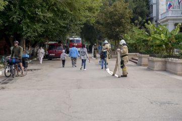 Феодосийские спасатели провели учения (ФОТО)