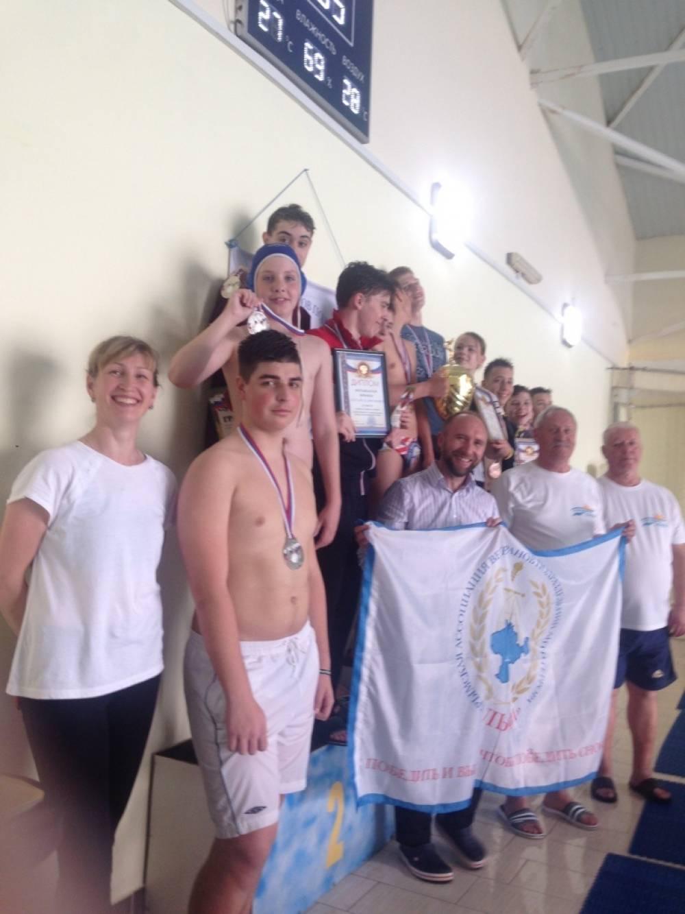 Открытый чемпионат по плаванию прошел в Керчи