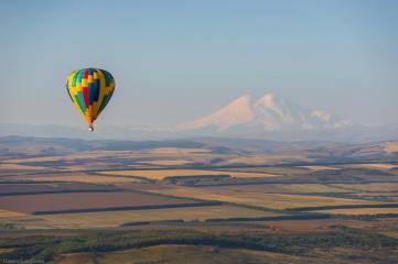 На воздушном шаре через Олимп