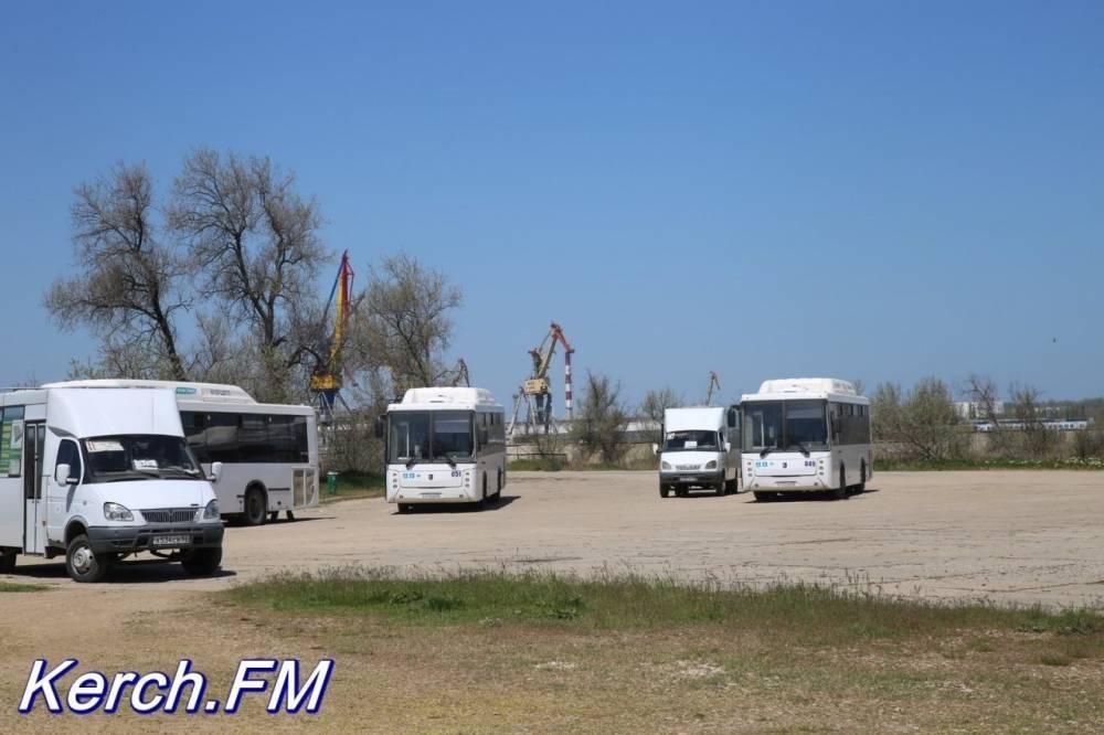 На горпляж Керчи пустят автобусы