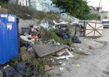 Мусорная тема в Феодосии не закрыта