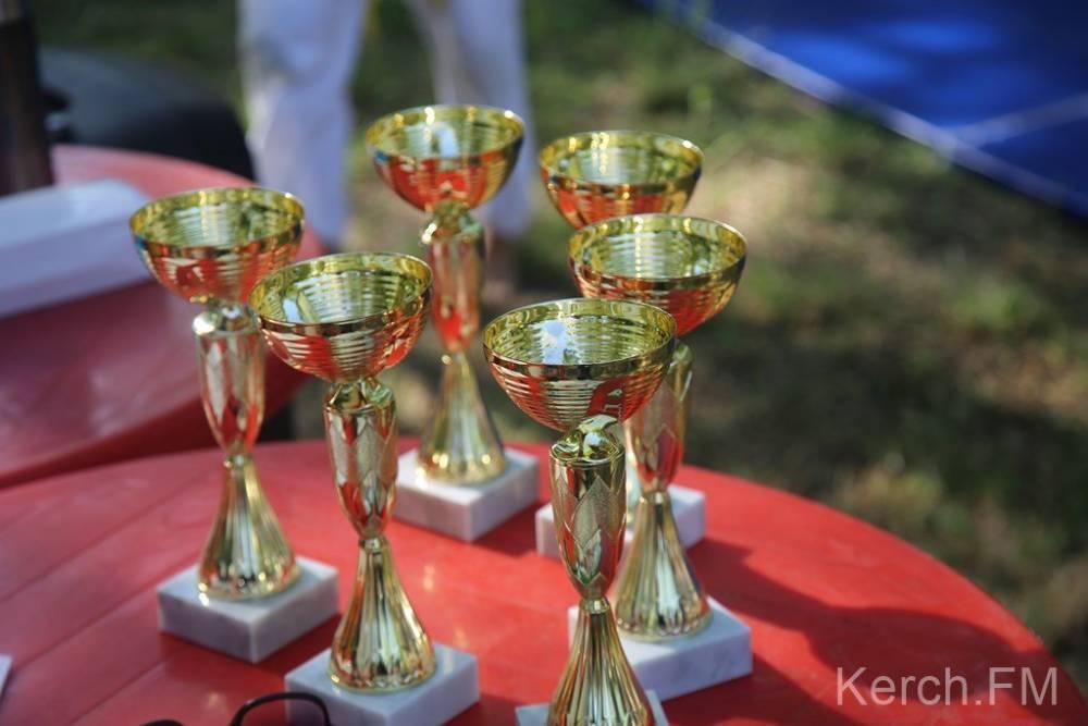 В Керчи прошли соревнования по борьбе куреш