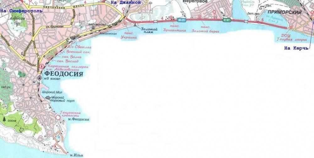 В Феодосии на освещение Керченской трассы необходимо почти 25 миллионов рублей