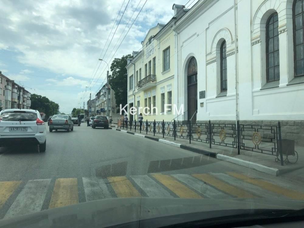 На Свердлова произошла авария