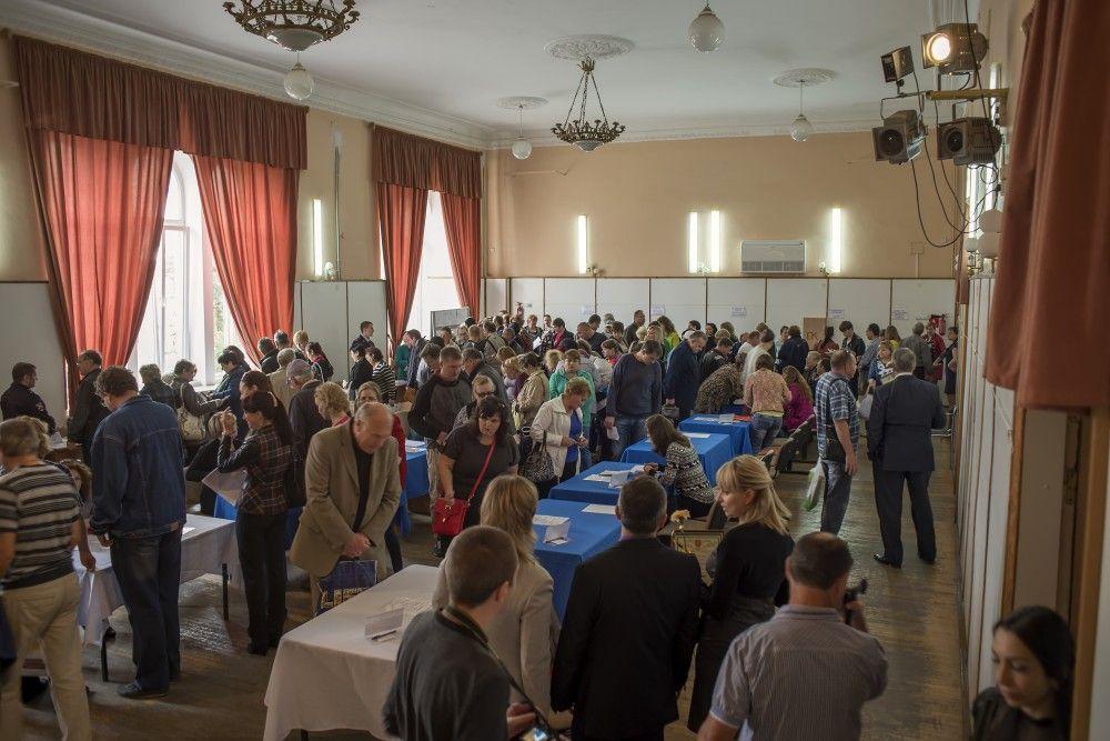 В Феодосии сегодня прошла ярмарка вакансий