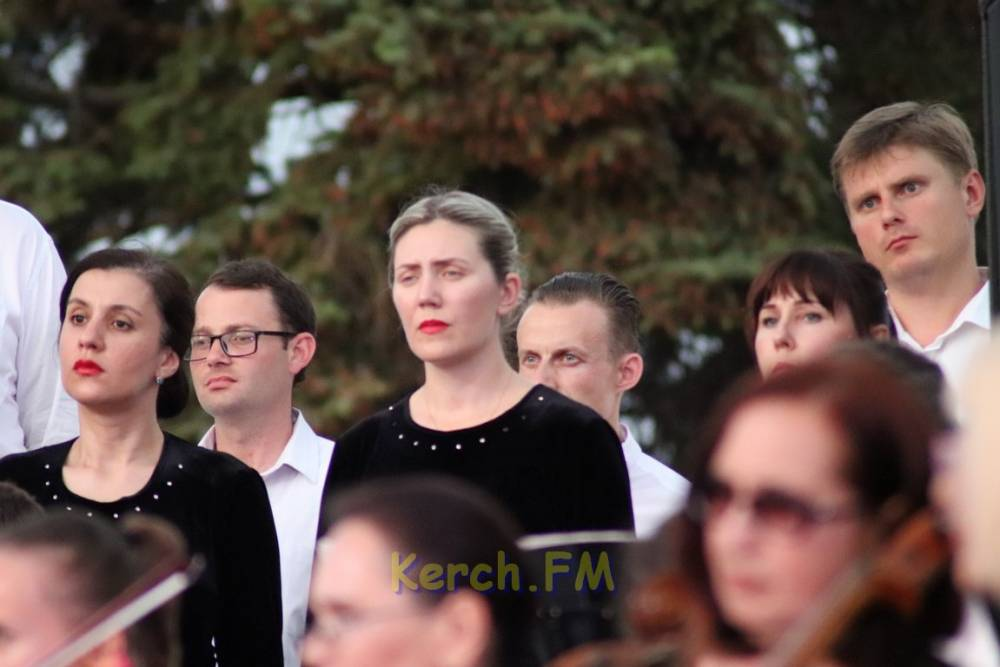 Великое произведение прозвучало в Керчи в исполнении сводного хора Крыма