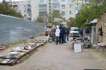 В Феодосии свернули «блошиный рынок»